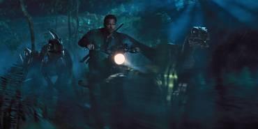 Chris Pratt i Jurassic World
