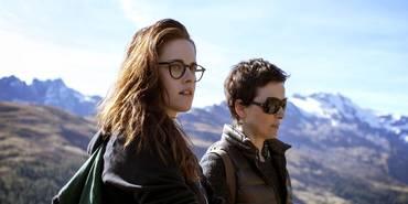 Juliette Binoche og Kristen Stewart i Sils Maria