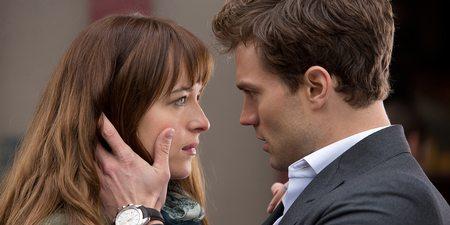 Dakota Johnson og Jamie Dornan i Fifty Shades of Grey