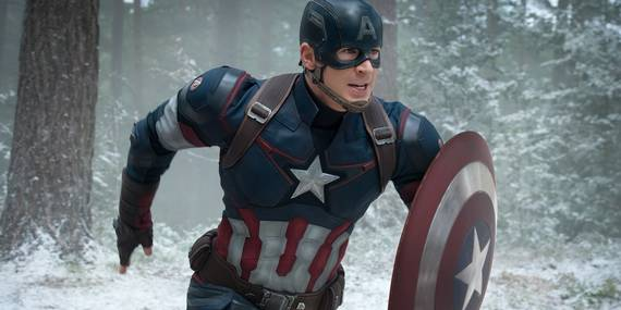 Chris Evans i The Avengers: Age of Ultron