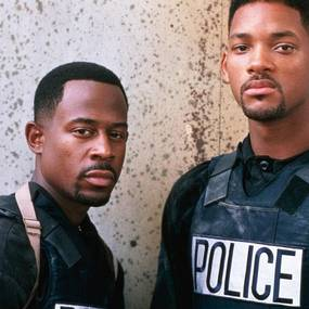 Martin Lawrence og Will Smith i Bad Boys