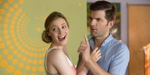 Gillian Jacobs og Adam Scott i Hot Tub Time Machine 2