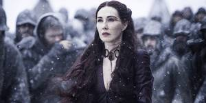 Carice von Houten i Game of Thrones sesong 5