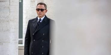 Daniel Craig på settet til James Bond: Spectre