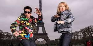 Ben Stiller og Owen Wilson med Zoolander-stunt p� moteuka i Paris