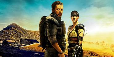 Tom Hardy og Charlize Theron i Mad Max: Fury Road