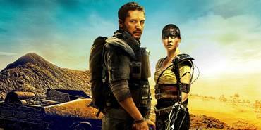 Tom Hardy og Charlize Theron i Mad Max: Fury Road