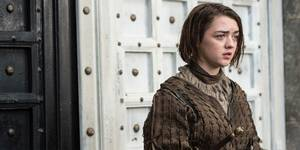 Maisie Williams som Arya Stark i Game of Thrones - sesong 5