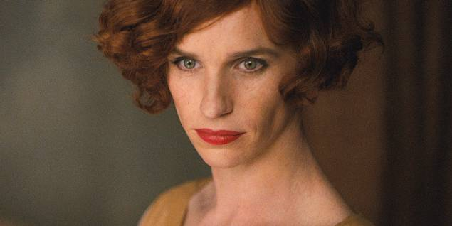 Eddie Redmayne i The Danish Girl