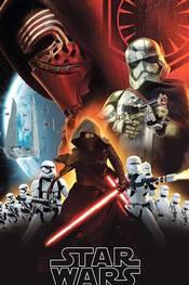 Promoplakat for Star Wars: The Force Awakens