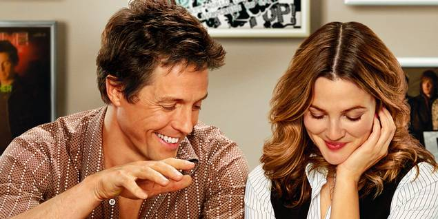 Drew Barrymore og Hugh Grant i Music and Lyrics