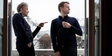 Casper Christensen og Frank Hvam i Klovn Forever