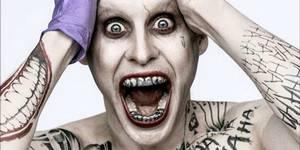 Jare Leto som Jokeren i Suicide Squad