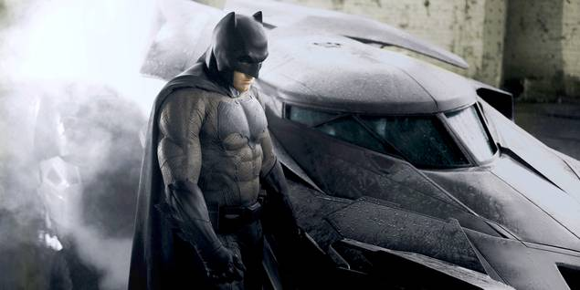 Ben Affleck som Batman i Batman v Superman: Dawn of Justice