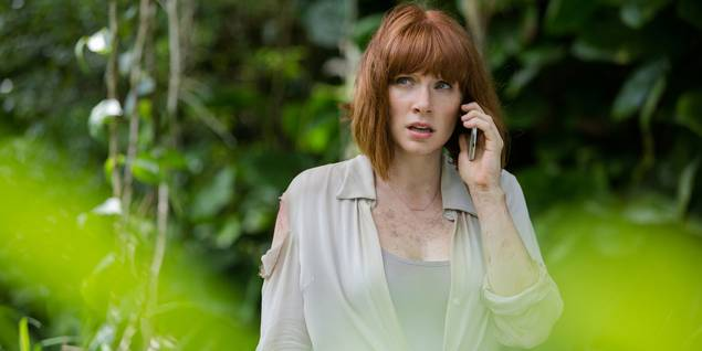 Bryce Dallas Howard i Jurassic World