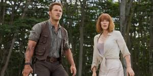 Chris Pratt og Bryce Dallas Howard i Jurassic World
