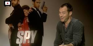 Jude Law i Spy-intervju