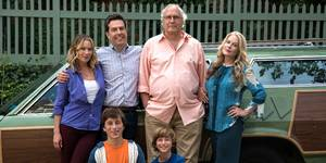 Ed Helms og Christina Applegate i Vacation