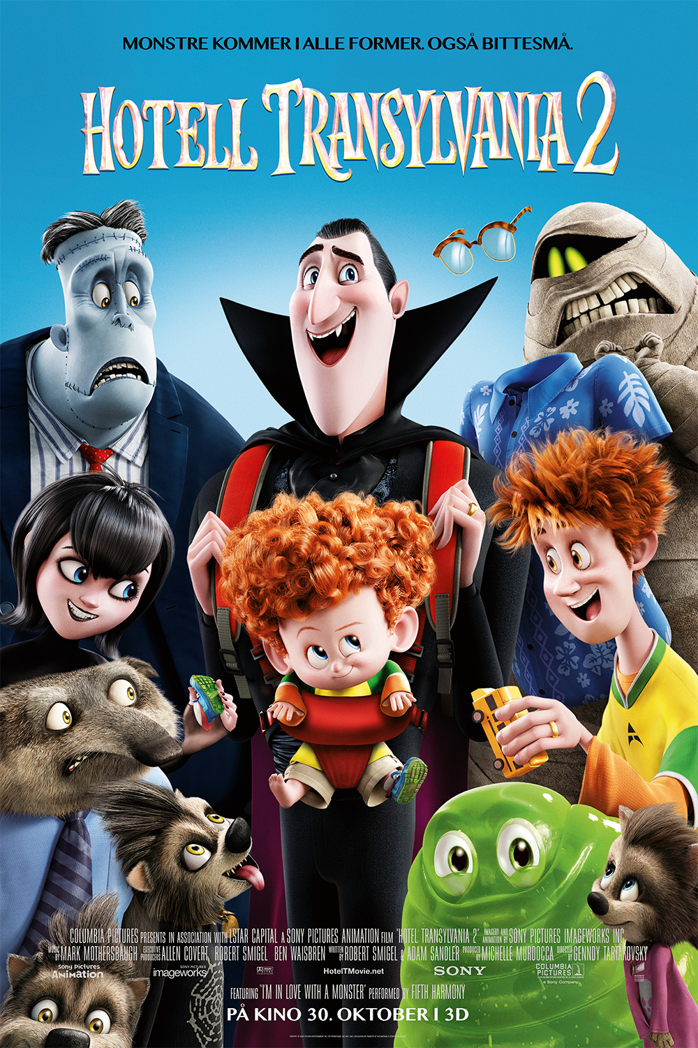 Hotell Transylvania 2 (2D, norsk tale)