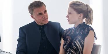 Christoph Waltz og Lea Seydoux i James Bond-filmen Spectre