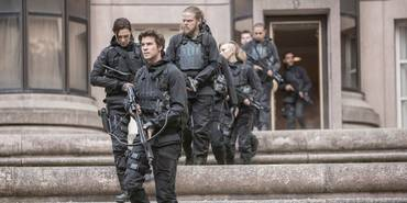 Liam Hemsworth i The Hunger Games: Mockingjay Part 2