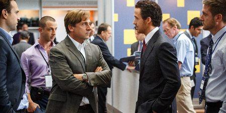 Steve Carell og Ryan Gosling i The Big Short