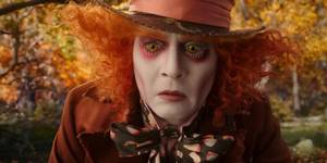 Johnny Depp i Alice in Wonderland: Through the looking glass