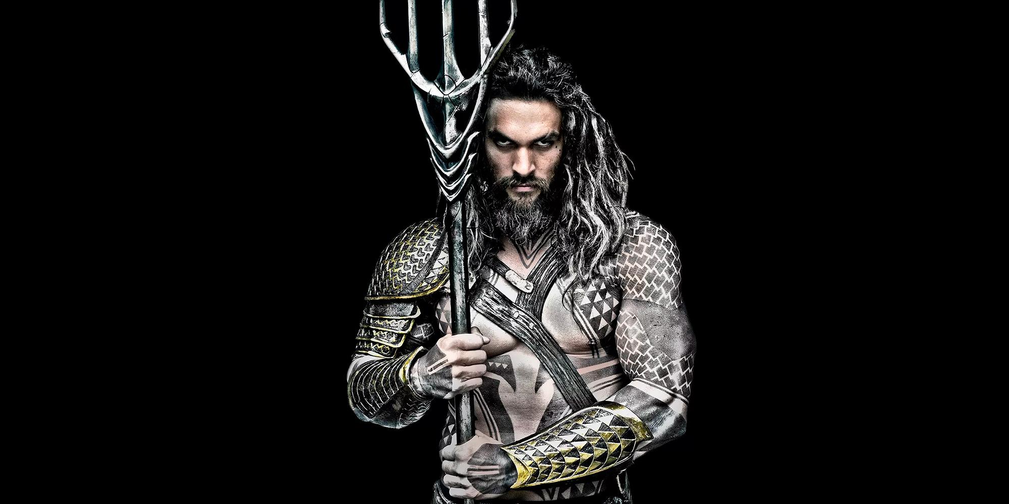 Jason Momoa er Aquaman
