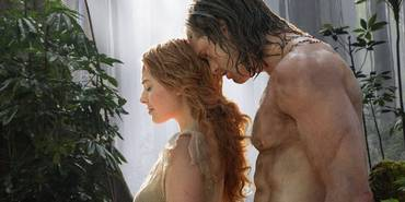 Margot Robbie og Alexander Skarsgår i The Legend of Tarzan