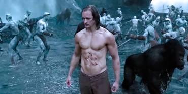 Alexander Skarsgaard i The Legend of Tarzan