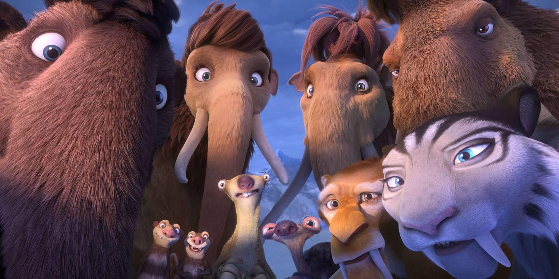Film for barn der man møter hele gjengen fra Istid