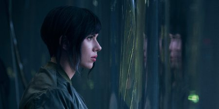 Scarlett Johansson i Ghost in the Shell