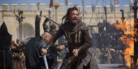 Michael Fassbender i Assassin's Creed