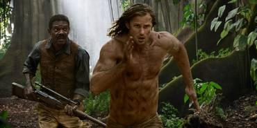 Samuel L. Jackson og Alexander Skarsgård i The Legend of Tarzan