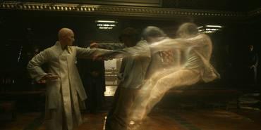 Tilda Swinton og Benedict Cumberbatch i Doctor Strange