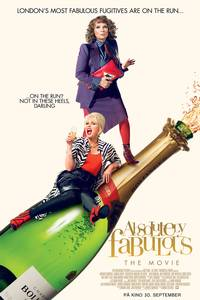 Absolutely Fabulous: The Movie (norsk plakat)