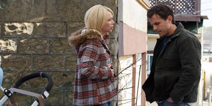 Michelle Williams og Casey Affleck i Manchester by the Sea
