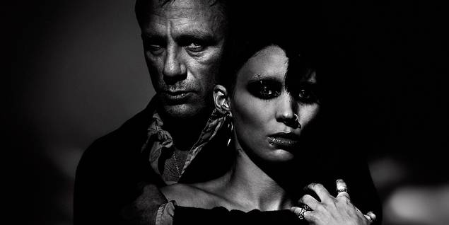 Daniel Craig og Rooney Mara i The Girl with the Dragon Tattoo