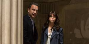 Tom Hanks og Felicity Jones i Inferno