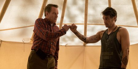 Bryan Cranston og James Franco i Why Him?