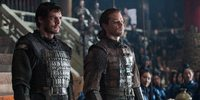 Pedro Pascal og Matt Damon i The Great Wall