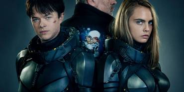 Dane DeHaan og Cara Delevingne i Valerian and the City of a Thousand Planets