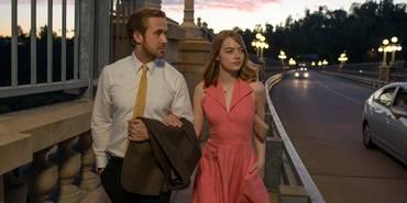 Ryan Gosling og Emma Stone i La La Land