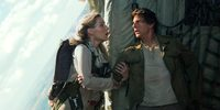 Annabelle Wallis og Tom Cruise i The Mummy