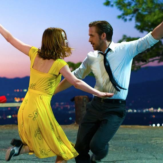 Emma Stone og Ryan Gosling i La La Land