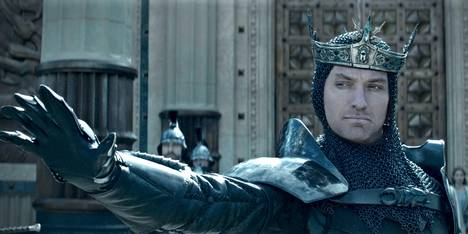 Jude Law i King Arthur: Legend Of The Sword