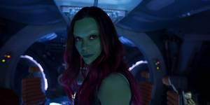 Zoe Saldana i Guardians of the Galaxy 2