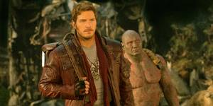 Chris Pratt og Dave Bautista i Guardians of the Galaxy 2
