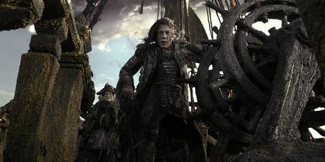 Javier Bardem i Pirates of the Caribbean: Dead Men Tell No Tales