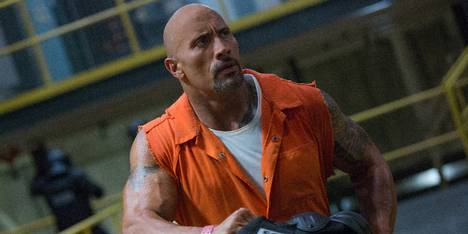 Dwayne Johnson i Fast & Furious 8
